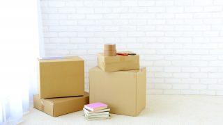 引っ越しの荷造りのイメージ画像