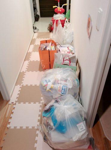 キッチン整理で出たごみの画像