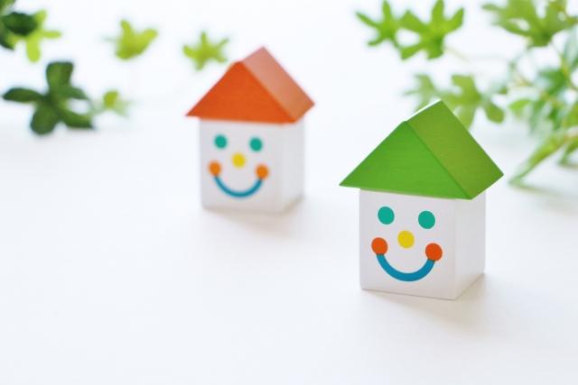 おもちゃの家の画像