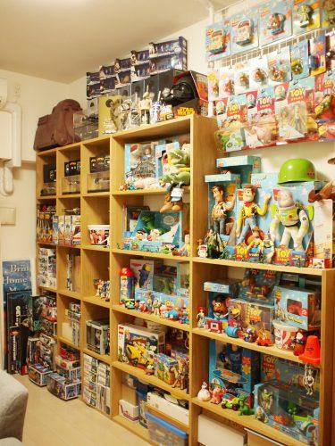 わが家のトイ・ストーリーコレクションの画像