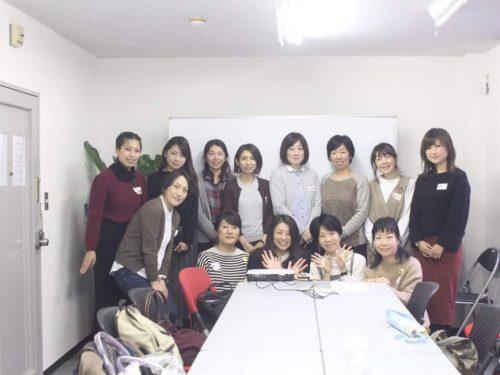 講座後に参加された皆さんと一緒に撮影した画像