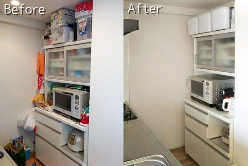 キッチンのBefore→After画像