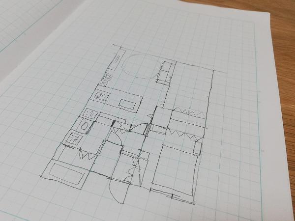 わが家の間取図