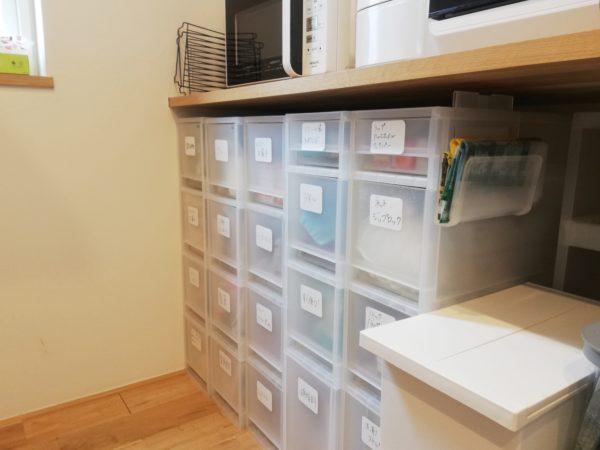 キッチンの整理収納アフター画像