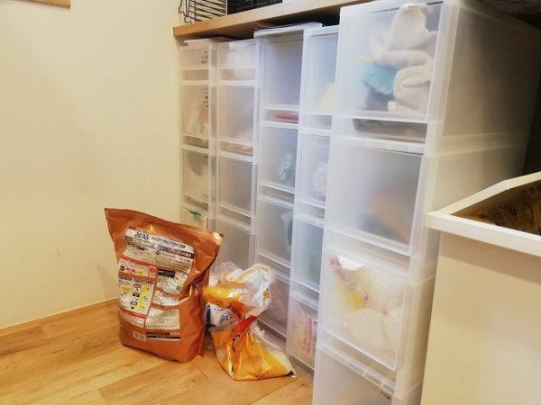 キッチンの整理収納ビフォー画像